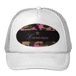 311 PINK CAMO STAR CAP