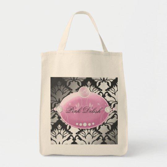 311 Pink Delish Charcoal Tote Bag