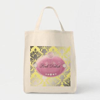 311 Pink Delish Lemon Tote Bag