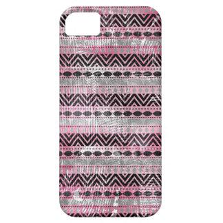 311 Pink Gray Black Aztec Texture iPhone 5 Cases