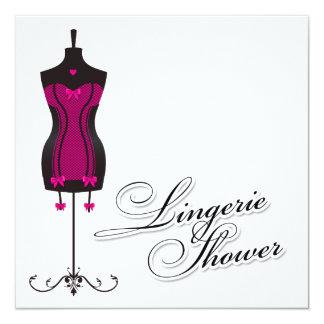 311-Pink Lingerie Mannequin Card