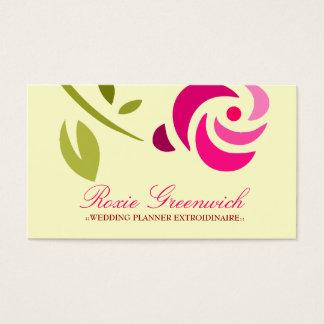 311-PINK ROSE EXTROIDINAIRE BUSINESS CARD
