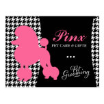 311 Pinx the Poodle Pet Post Card