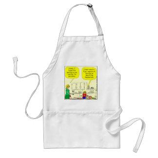 311 Popcorn pancakes cartoon Standard Apron