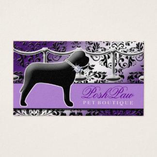 311 Posh Pet Purple Business Card