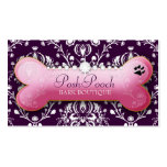 311 Posh Pooch Eggplant Pack Of Standard Business Cards