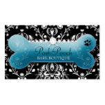311 Posh Pooch Teal Pitch Bark Business Card Templates