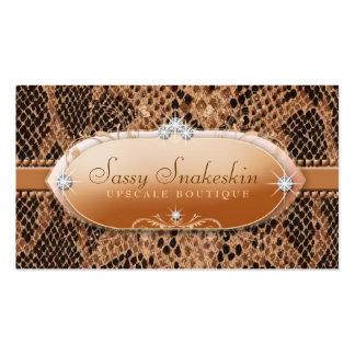 311 Sassy Snakeskin Pack Of Standard Business Cards