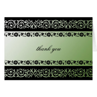 311-Sheer Extravagence Moss Note Card