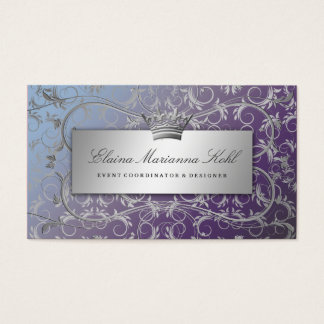 311 Silver Divine Hydrangea Business Card