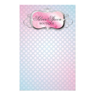 311 Silver Spoon   Baby Boutique Stationery