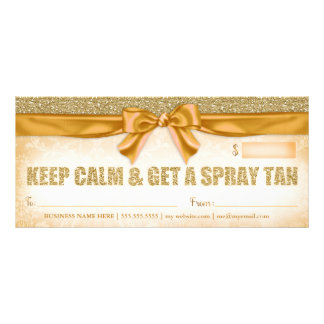 311 Spray Tan Gift Certificate