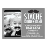 311 Stache Dinner Bash Interactive Moustache Invite