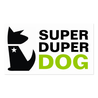 311 Super Duper Dog Pack Of Standard Business Cards