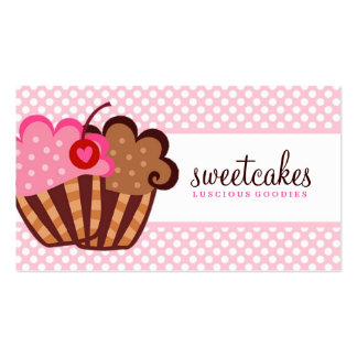 311 Sweet Cakes Cupcake Pack Of Standard Business Cards