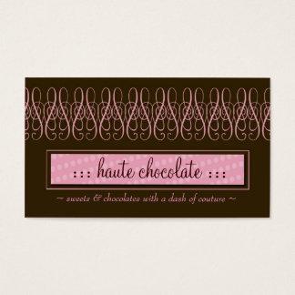 311-SWIRLY SWEET CHOCOLATE BUSINESS CARD