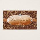 311 The Luminous Leopard Business Card