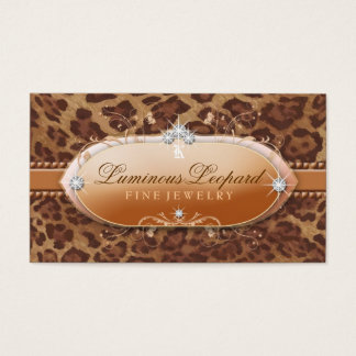 311 The Luminous Leopard Business Card
