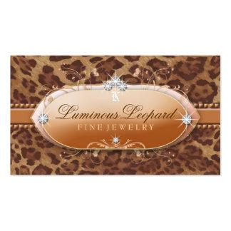 311 The Luminous Leopard Business Card Template