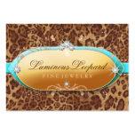 311 The Luminous Leopard Turquoise Trim