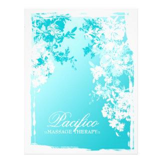 311-Tranquil Blue Garden Fade 21.5 Cm X 28 Cm Flyer