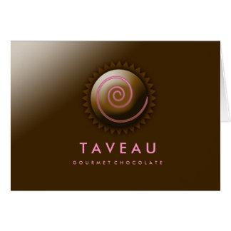 311-Upscale Gourmet Chocolate Card