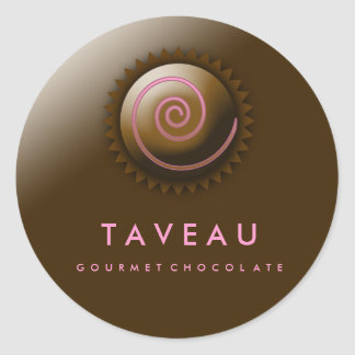 311-Upscale Gourmet Chocolate Stickers