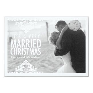 311 Very Married Christmas Holiday Photo Card