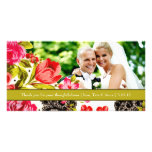 311-VIBRANT GARDEN Thank You Photo Cards