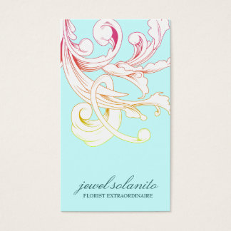 311-Vivid Foliage Flare Business Card