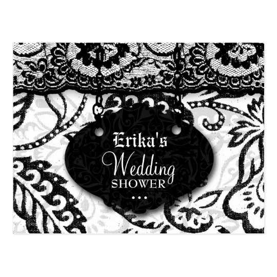 311-WEDDING SHOWER INVITATION POSTCARD