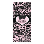 311 Wild at Heart Berry Flirt Personalized Rack Card