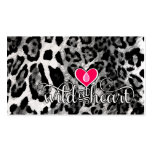 311 Wild at Heart Leopard Premium Pearl Paper Business Cards