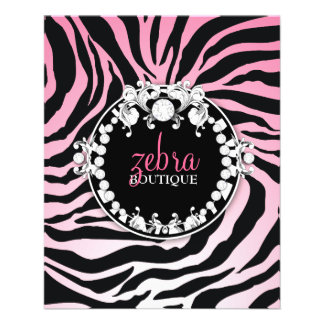 311 Zebra-tique Melon 11.5 Cm X 14 Cm Flyer