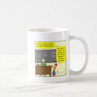 313 someone is getting a spanking Cartoon Mugs