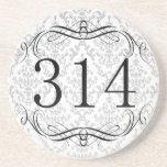 314 Area Code Coaster
