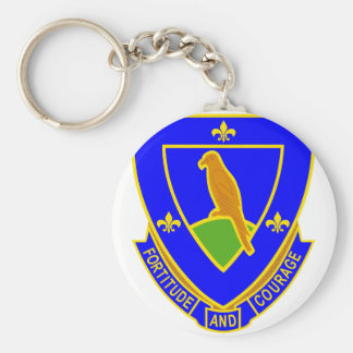 314 Regiment Basic Round Button Key Ring
