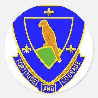 314 Regiment Round Stickers