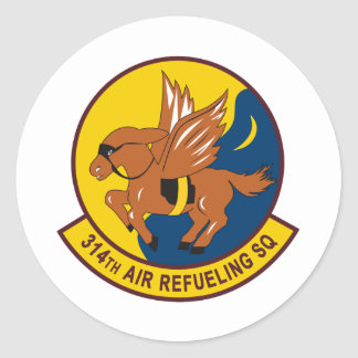 314th Air Refueling Squadron Stickers