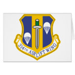 314th Air Wing Greeting Card