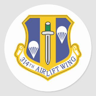 314th Air Wing Sticker