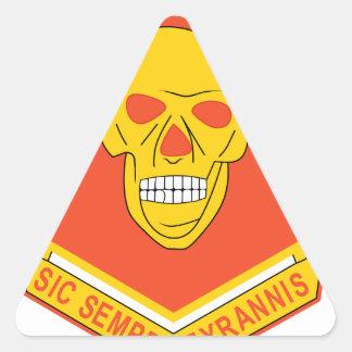314th Field Arty. BN Triangle Sticker