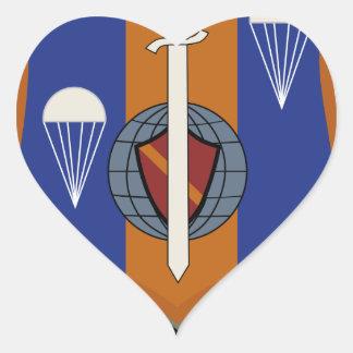 314th Troop Carrier Wing Heart Sticker