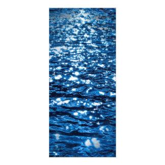 316143 BLUE OCEAN RIPPLES NATURE BEAUTY BACKGROUND CUSTOMISED RACK CARD
