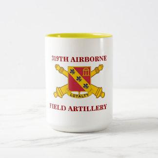 319TH AIRBORNE FIELD ARTILLERY MUG