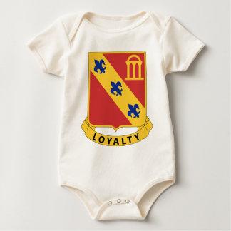 319th Airborne Field Artillery Regiment - Loyalty Baby Bodysuit
