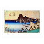 31. 舞坂宿, 広重 Maisaka-juku, Hiroshige, Ukiyo-e Post Card