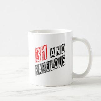 31 And Fabulous Coffee Mug
