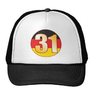 31 GERMANY Gold Cap