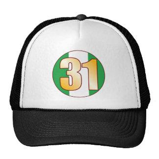 31 NIGERIA Gold Cap